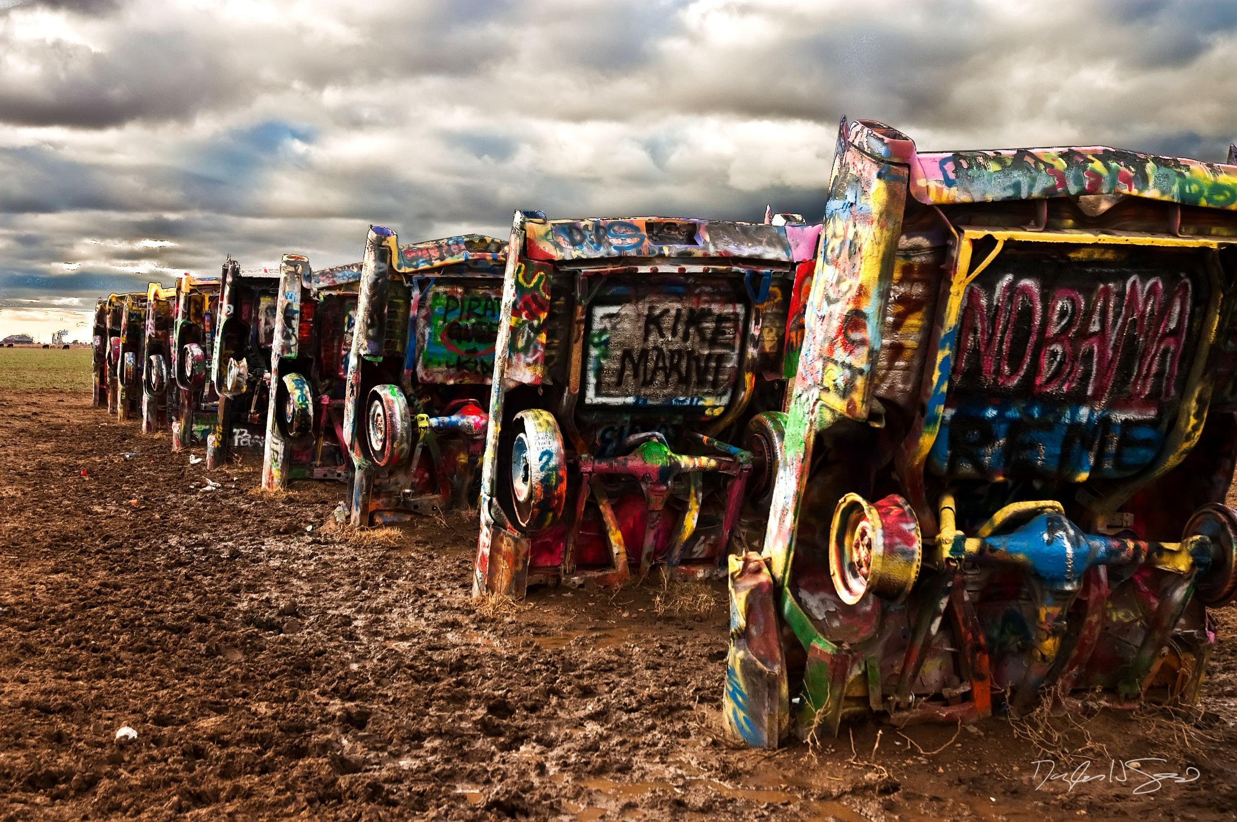 cadillac ranch amarillo texas doug graybeal photography usd