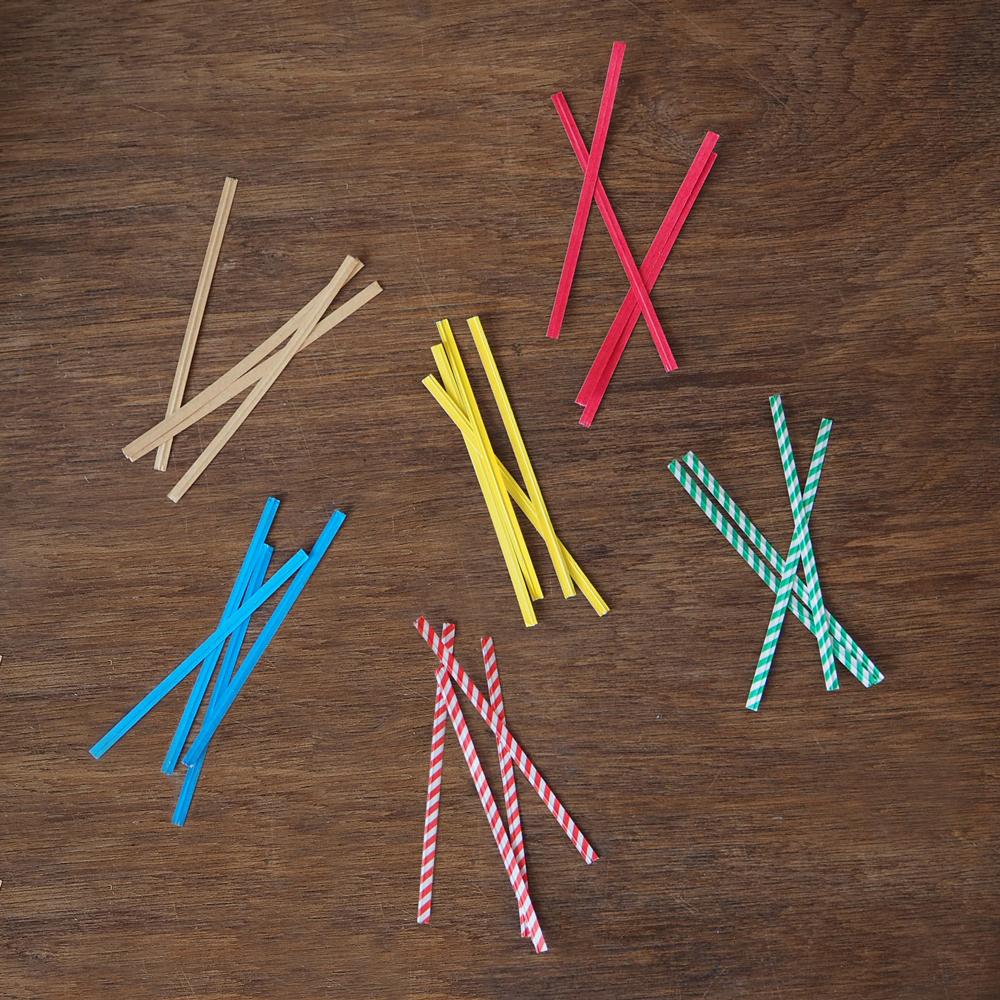 Paper Twist Ties  ebay (click for link)