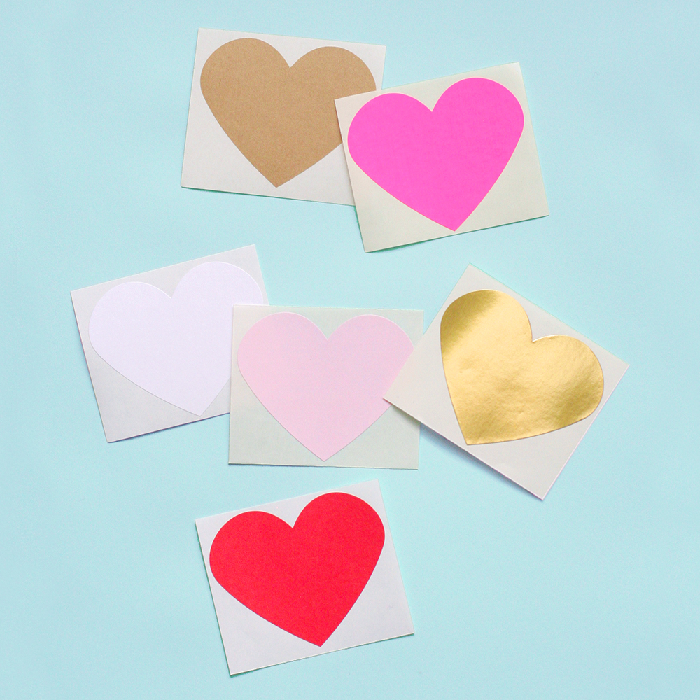 Heart Stickers  onlinelables.com