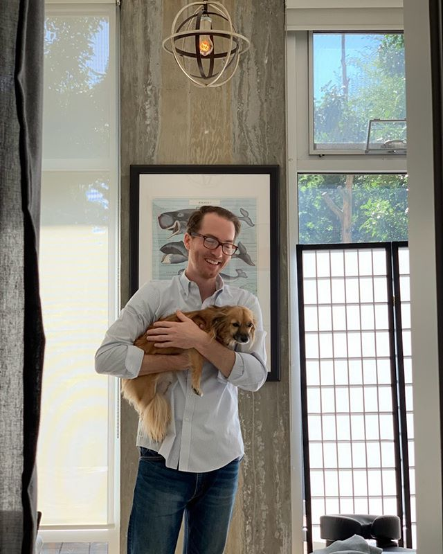 Got to spend some time with Sky #dachshund #wienerdog #smalldog at Dr Dan HQ last week. What a treat! Thanks @stronnie for giving him a great home in #portlandoregon