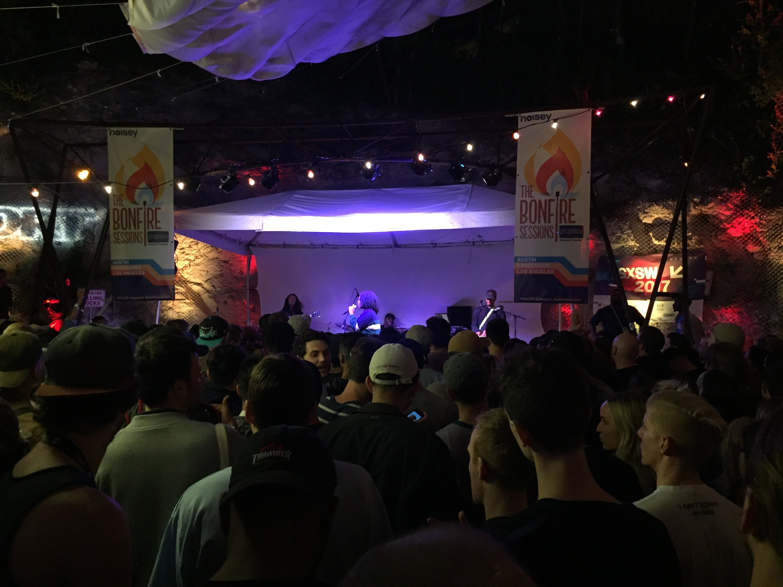 NoName killing it at SXSW!