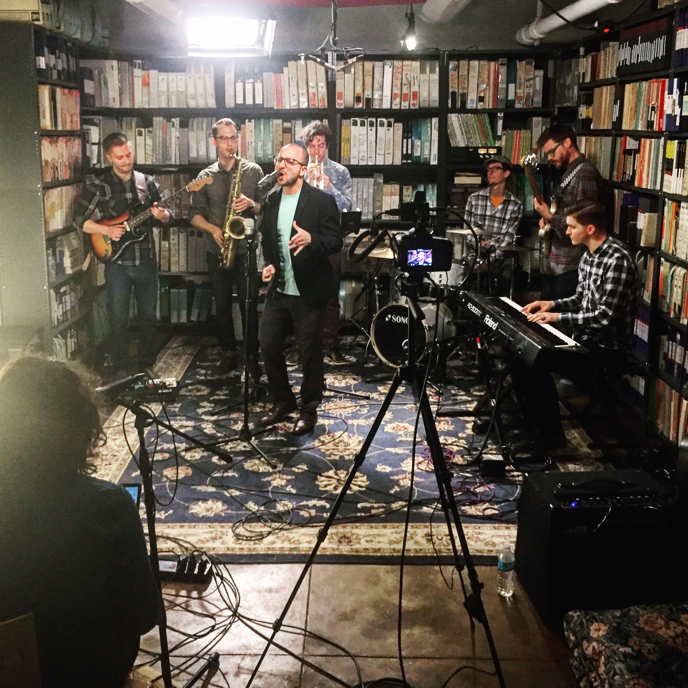 Bassel & The Supernaturals: Live @ Paste Magazine in NYC