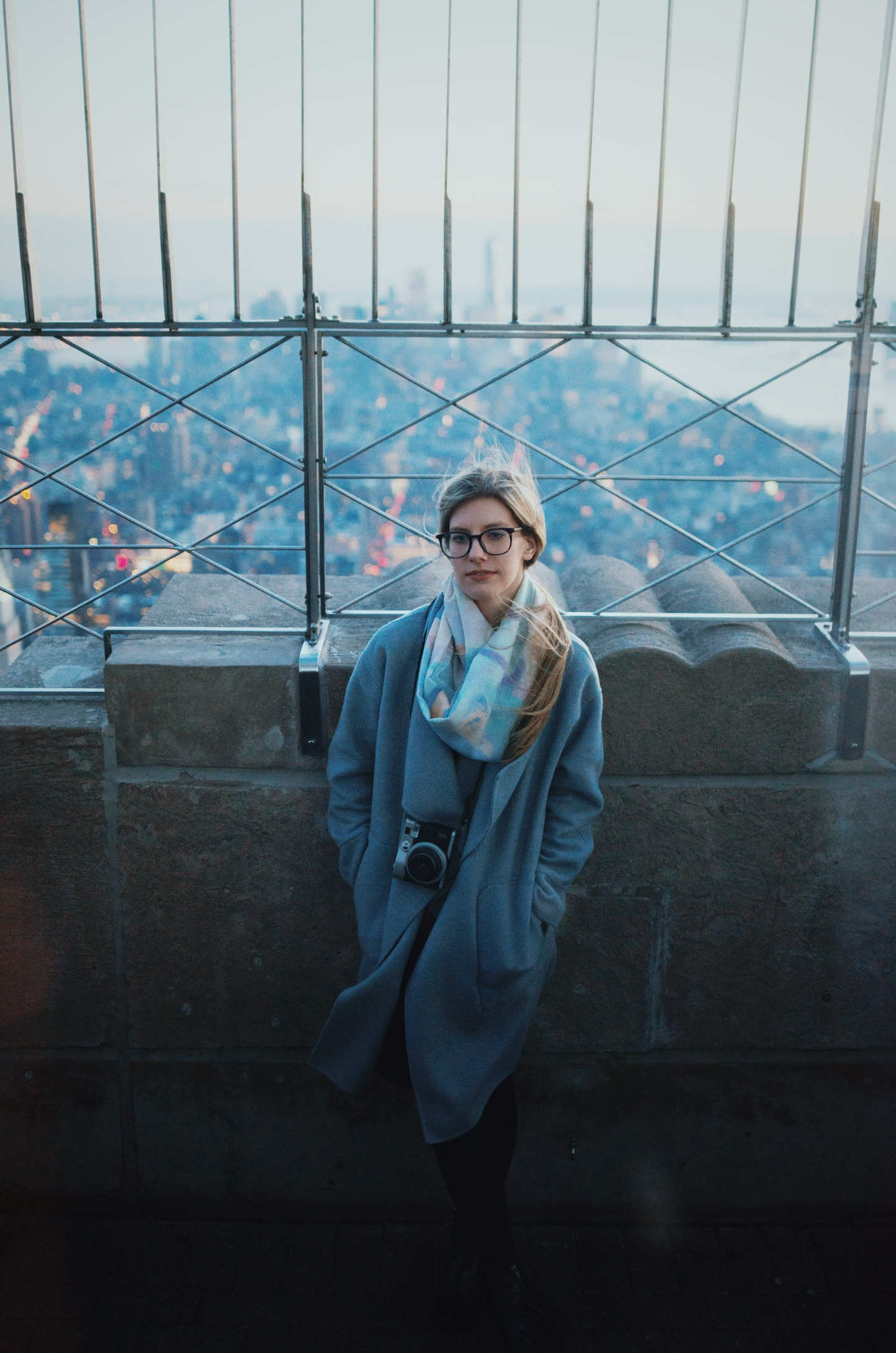 Empire State Building, Manhattan  Valentines Day 2017