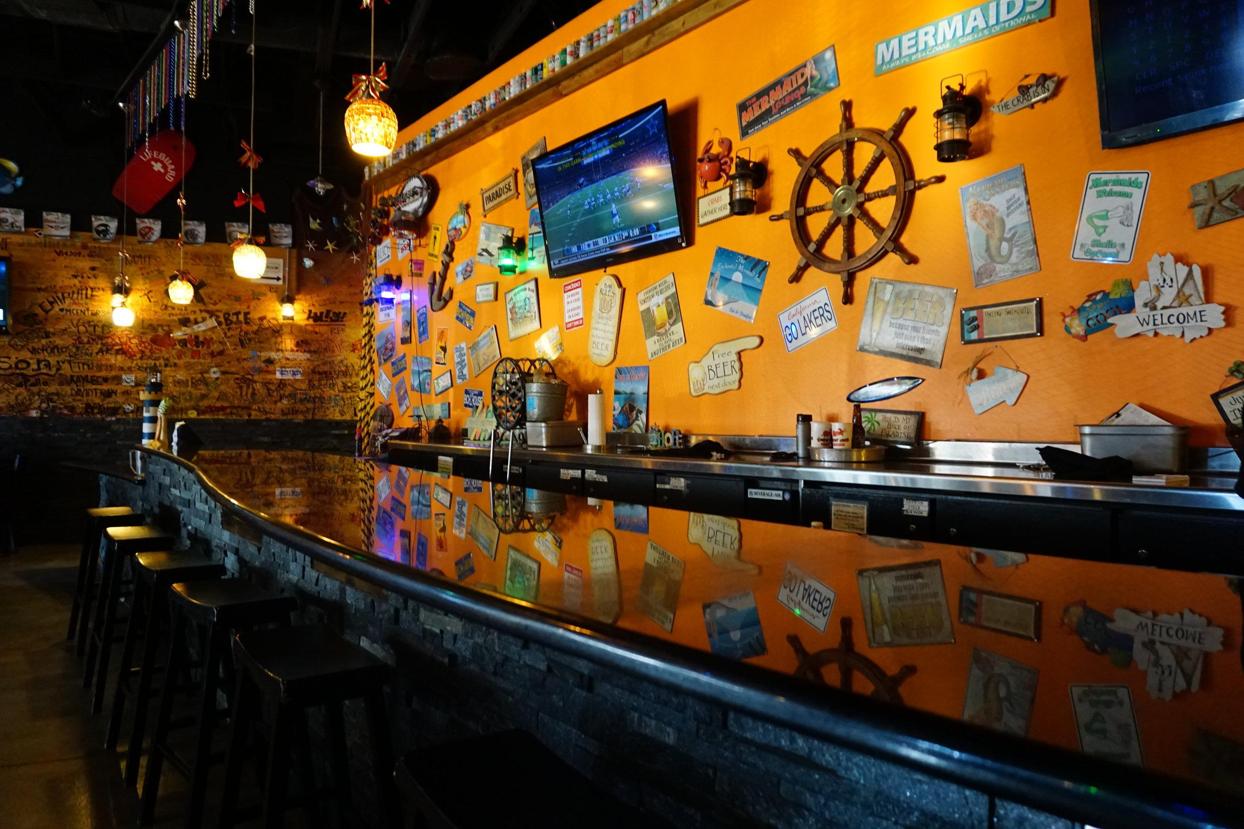 Photo inside of Kickin' Crab Bar
