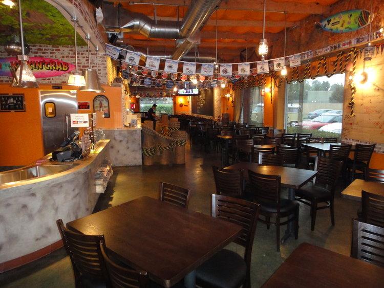 Photo inside of Kickin' Crab Santa Ana Interior