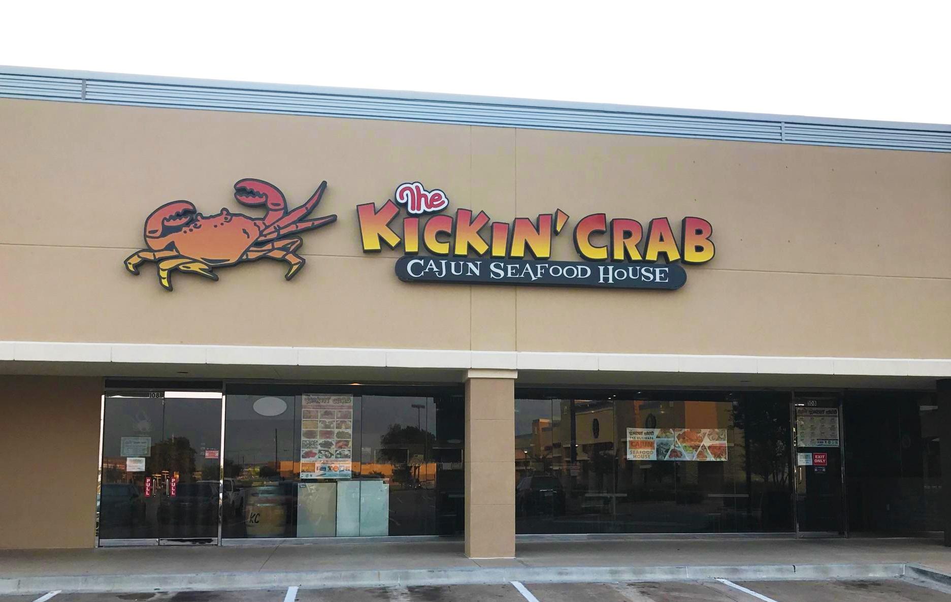 Photo outside of Kickin' Crab Carrollton, Texas