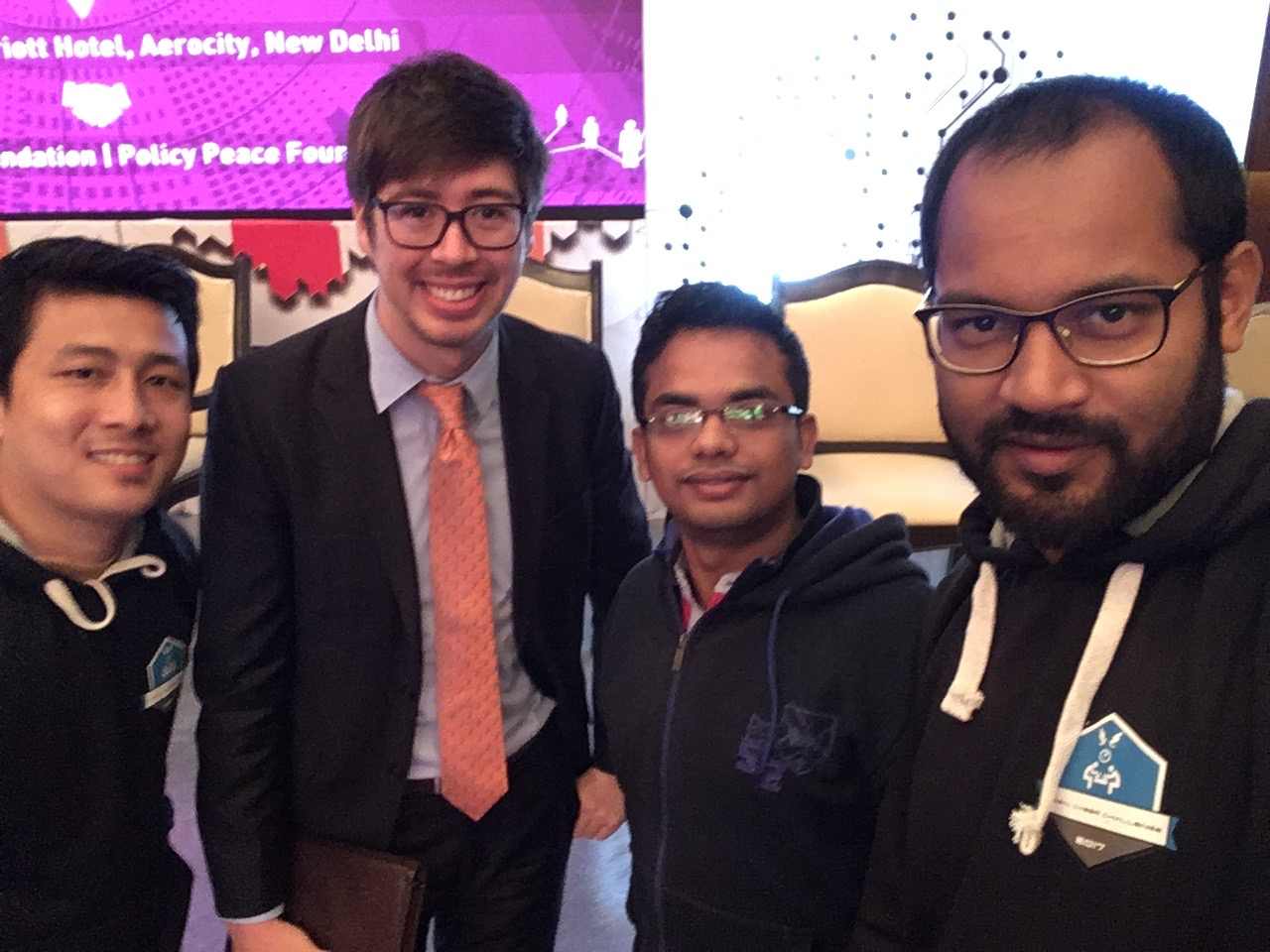 Mentoring at the GCCS Hackathon - New Delhi, IN (2017)