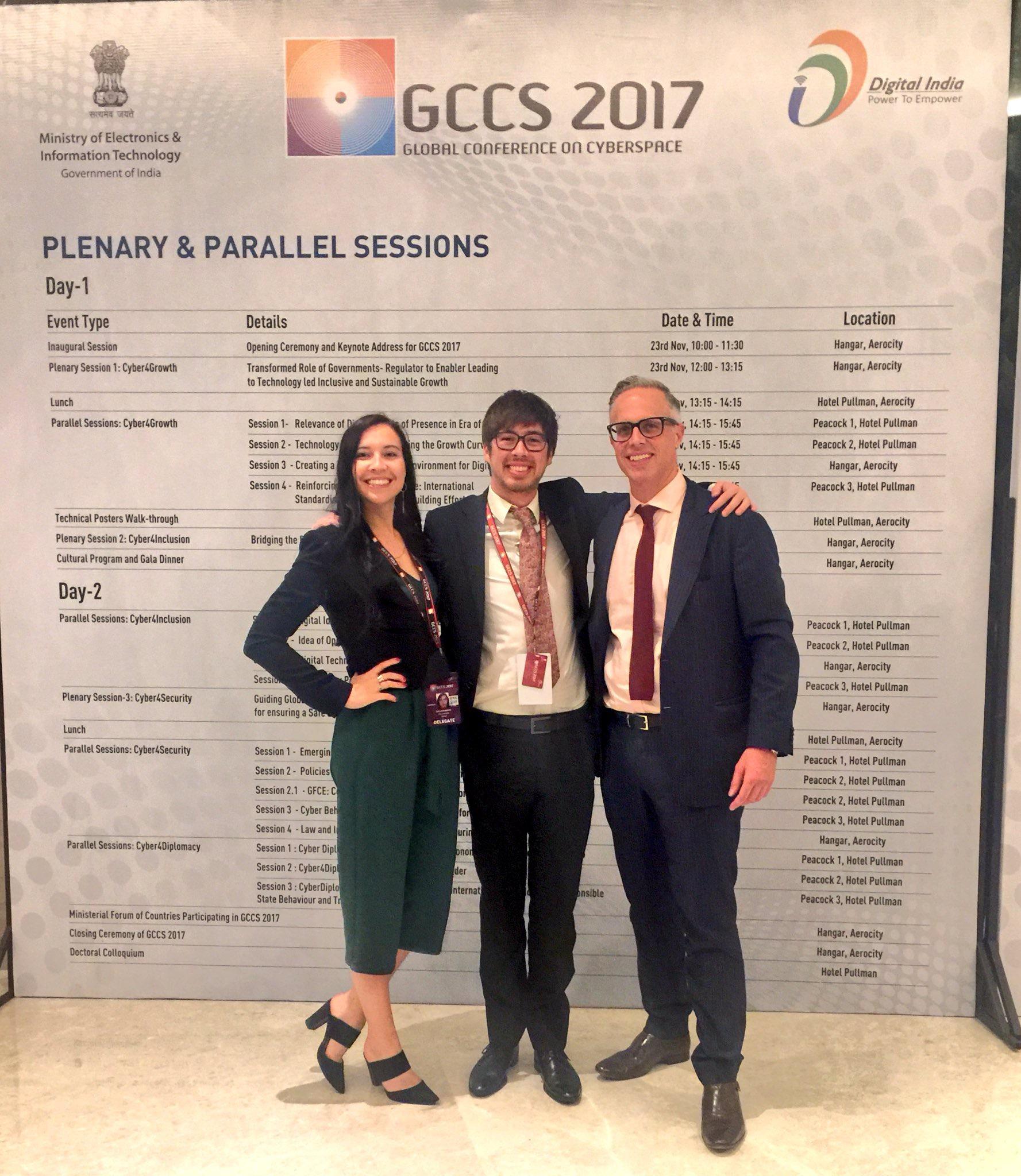 ASPI reunion at GCCS 2017 - New Delhi, IN(2017)