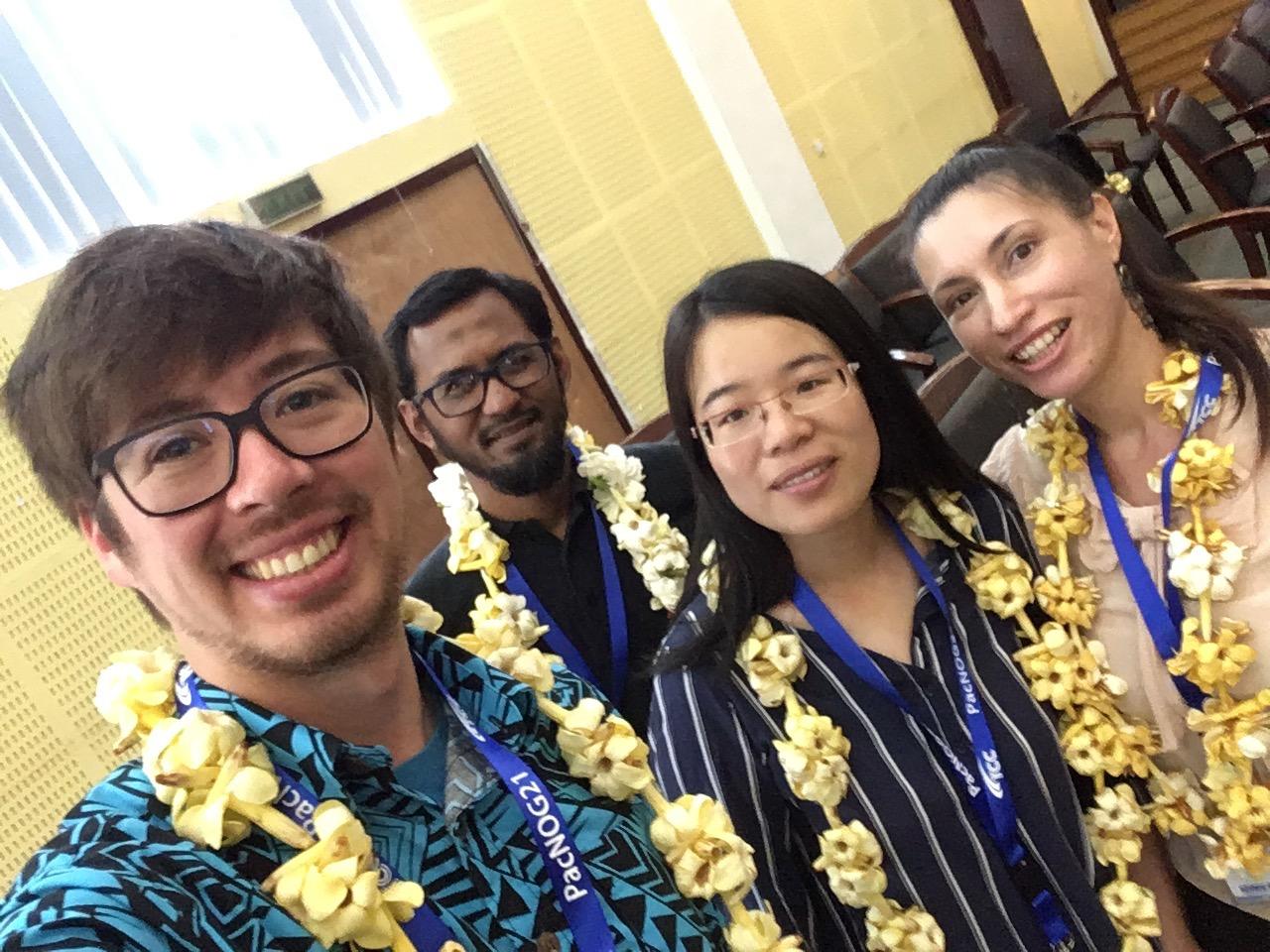 Team APNIC at PacNOG 22 - Nukualofa, TO (2017)