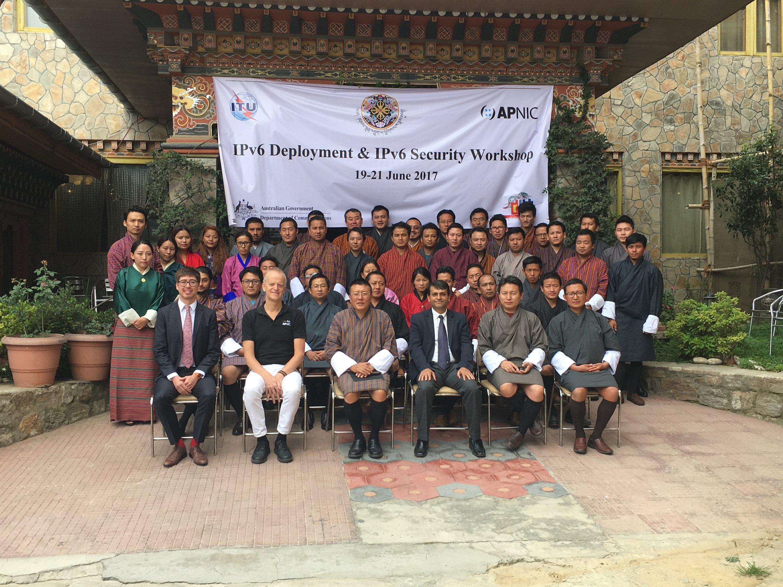 IPv6 Direct Country Assistance - Thimphu, BT (2017)