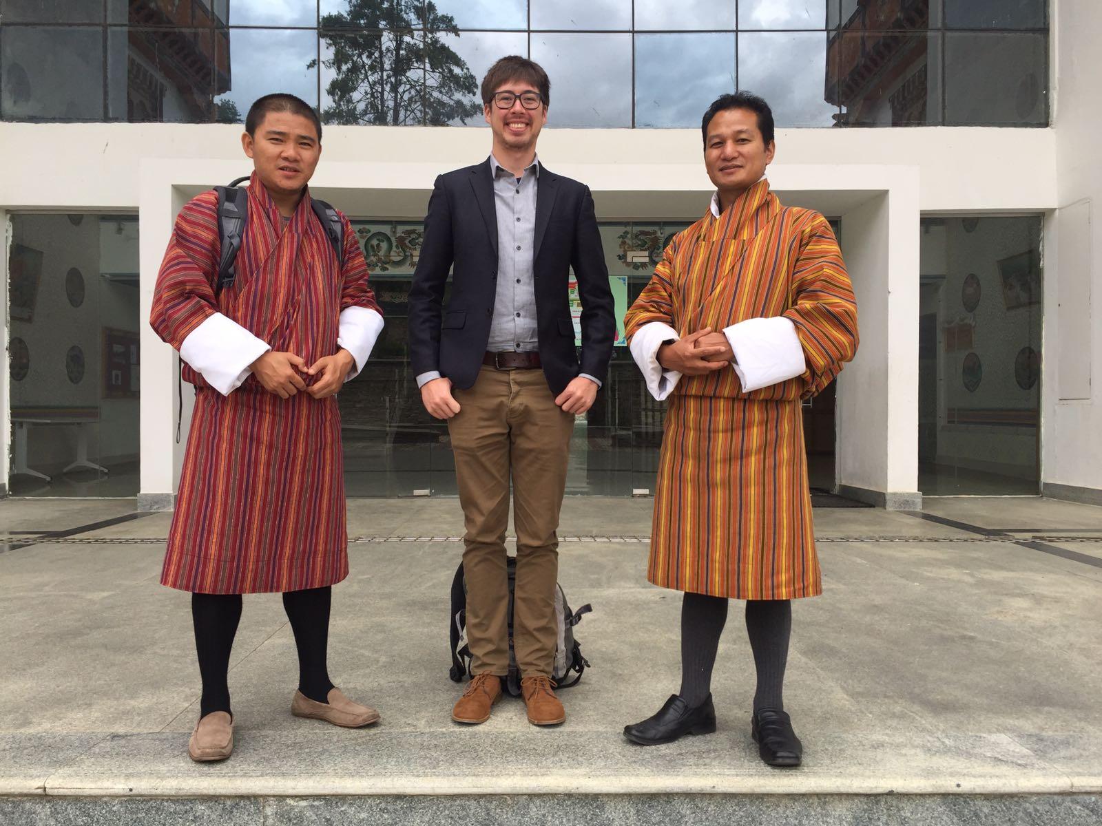 IXP meetings at Thimphu Tech Park - Thimphu, BT (2017)