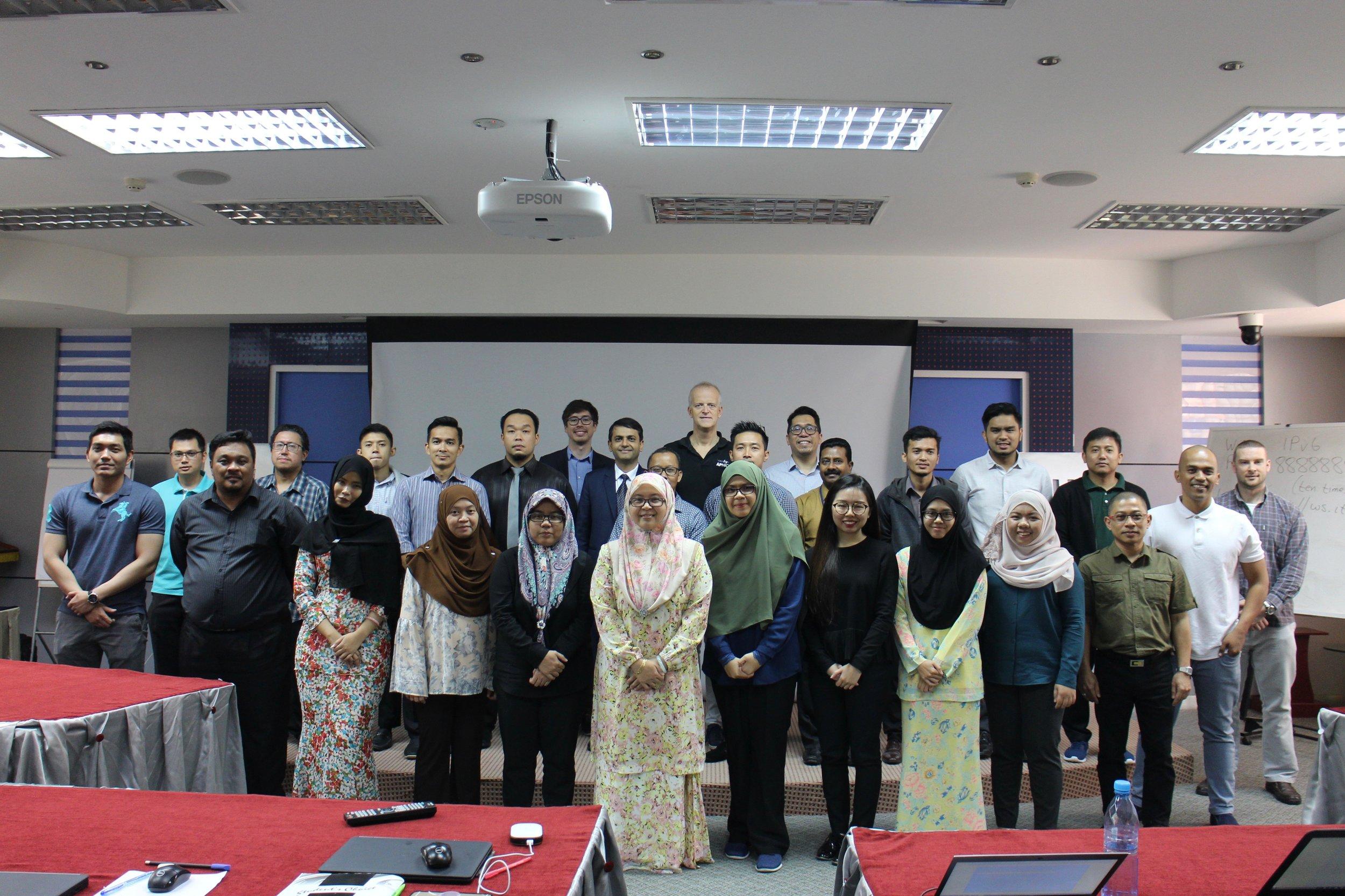 IPv6 Direct Country Assistance - Bandar Seri Begawan, BN (2018)