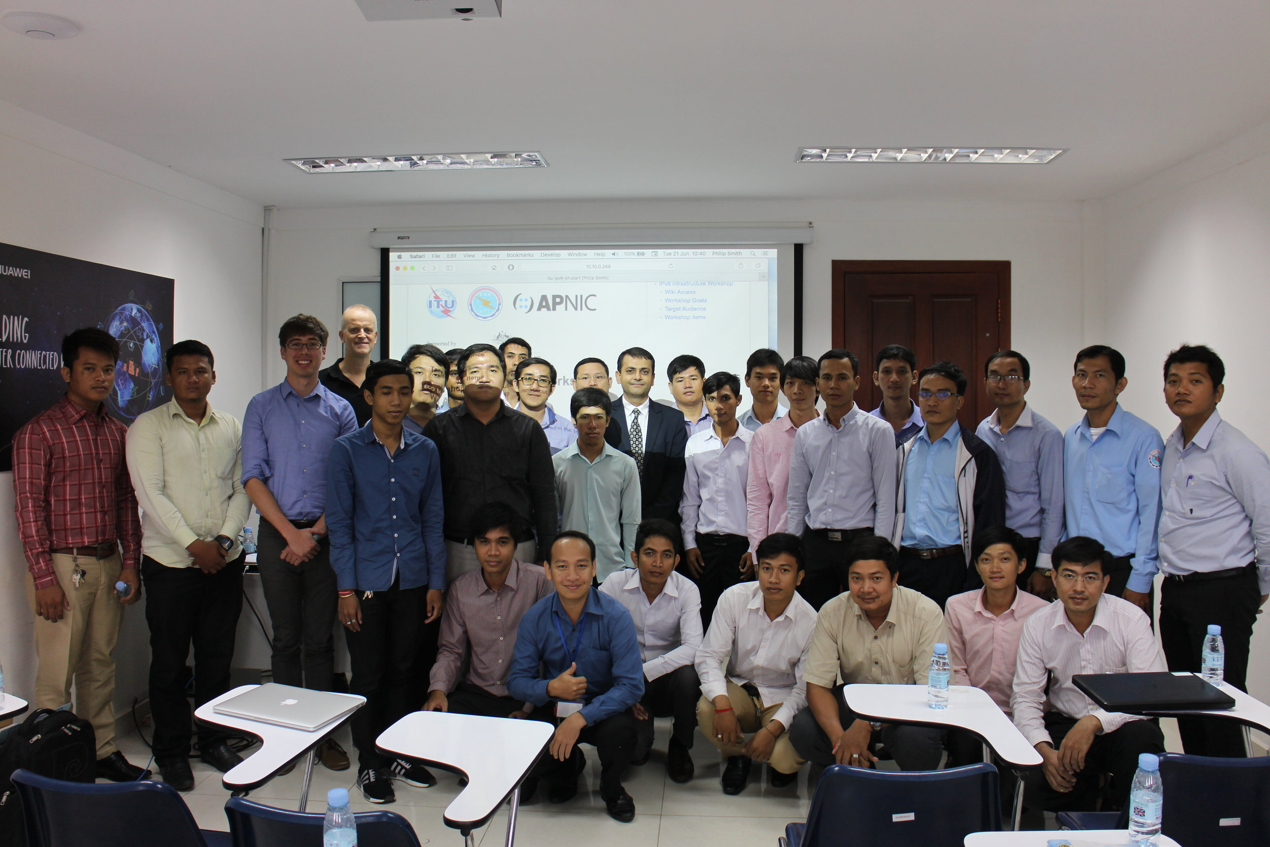 IPv6 Direct Country Assistance - Phnom Phen, KH (2016)
