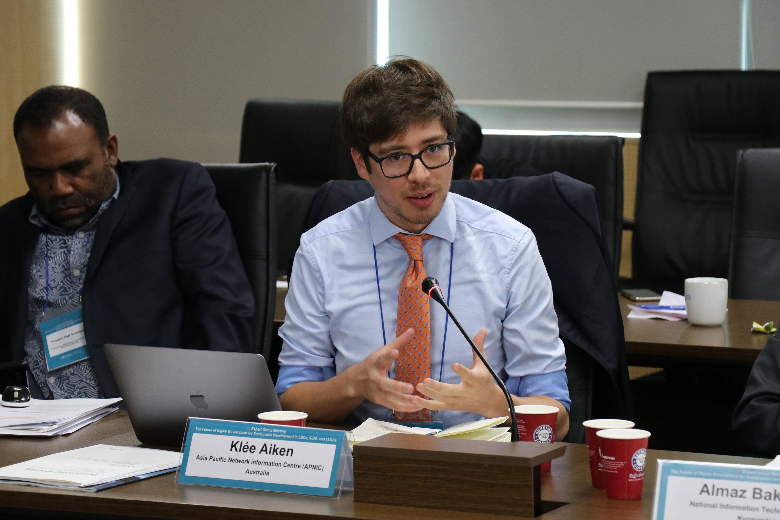 UNDESA Expert Group Meeting - Incheon, KR (2019)