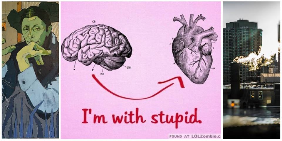 """""""I'm With Stupid""""Gallery Exhibition new works by  Kris Platko Art and  Elisa Vietri"""