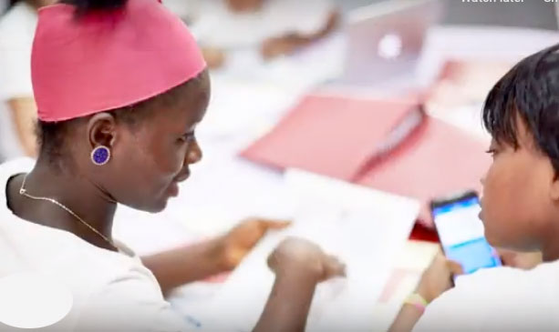 The Online Leadership Academy will help Global Girl to reach even more girls around the world. -