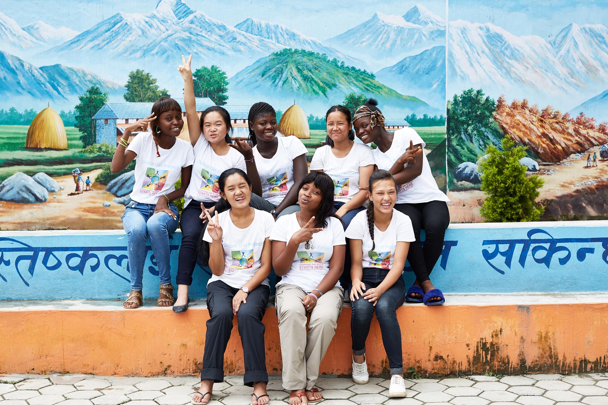 Our 2018 scholars in Kathmandu, Nepal!!