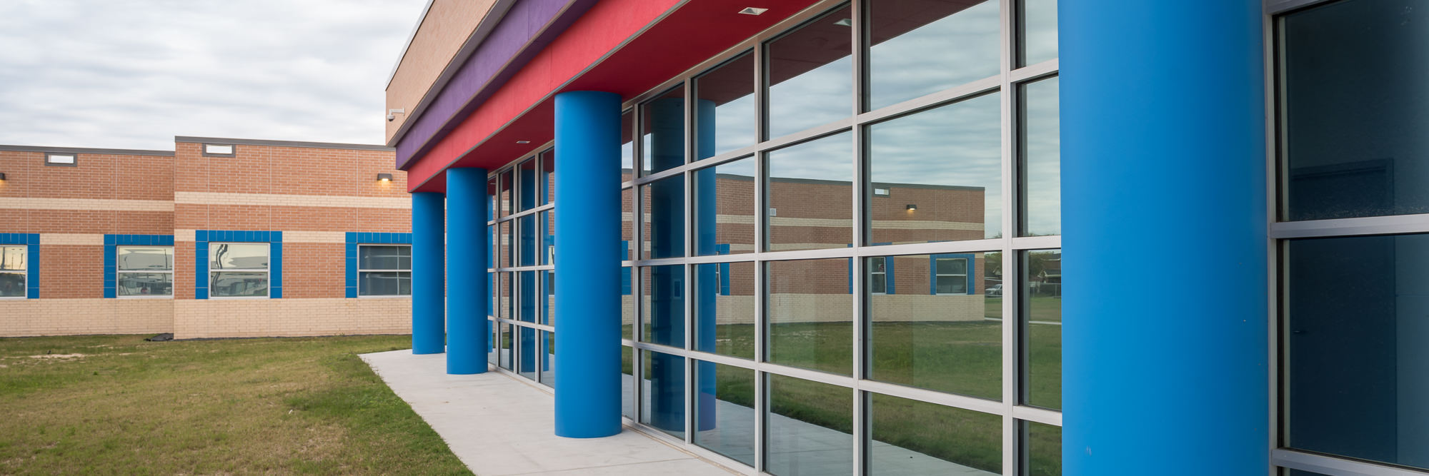 commercial glazing glass houston - school windows