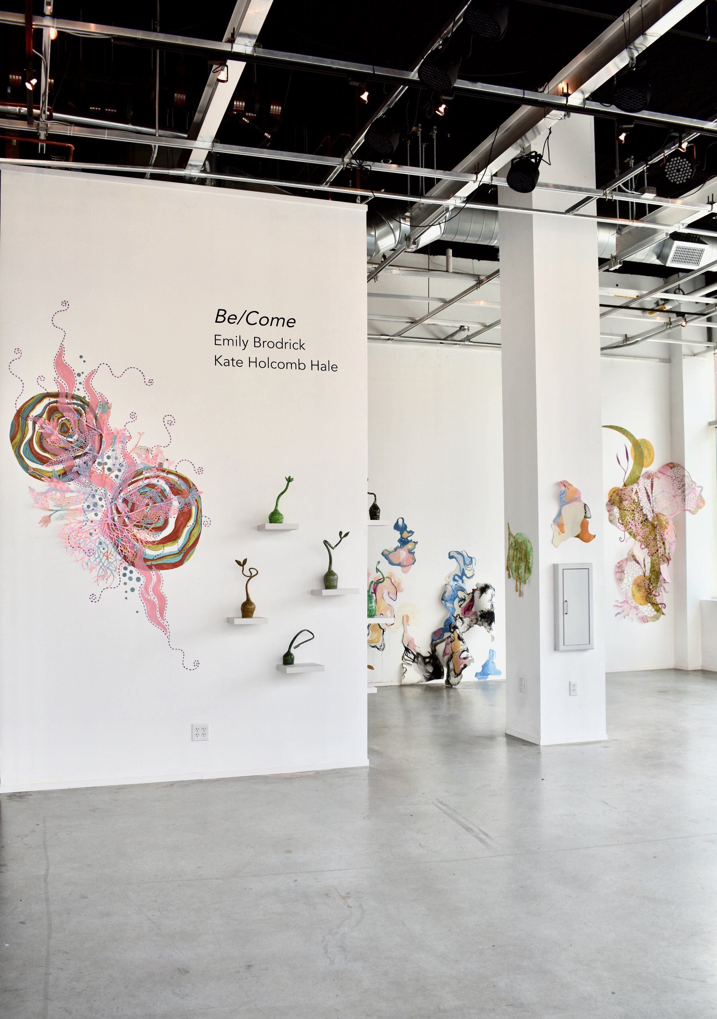 Be/Come, two person show with Kate Holcomb Hale, FPAC Assemblage Gallery, May-June 2019.