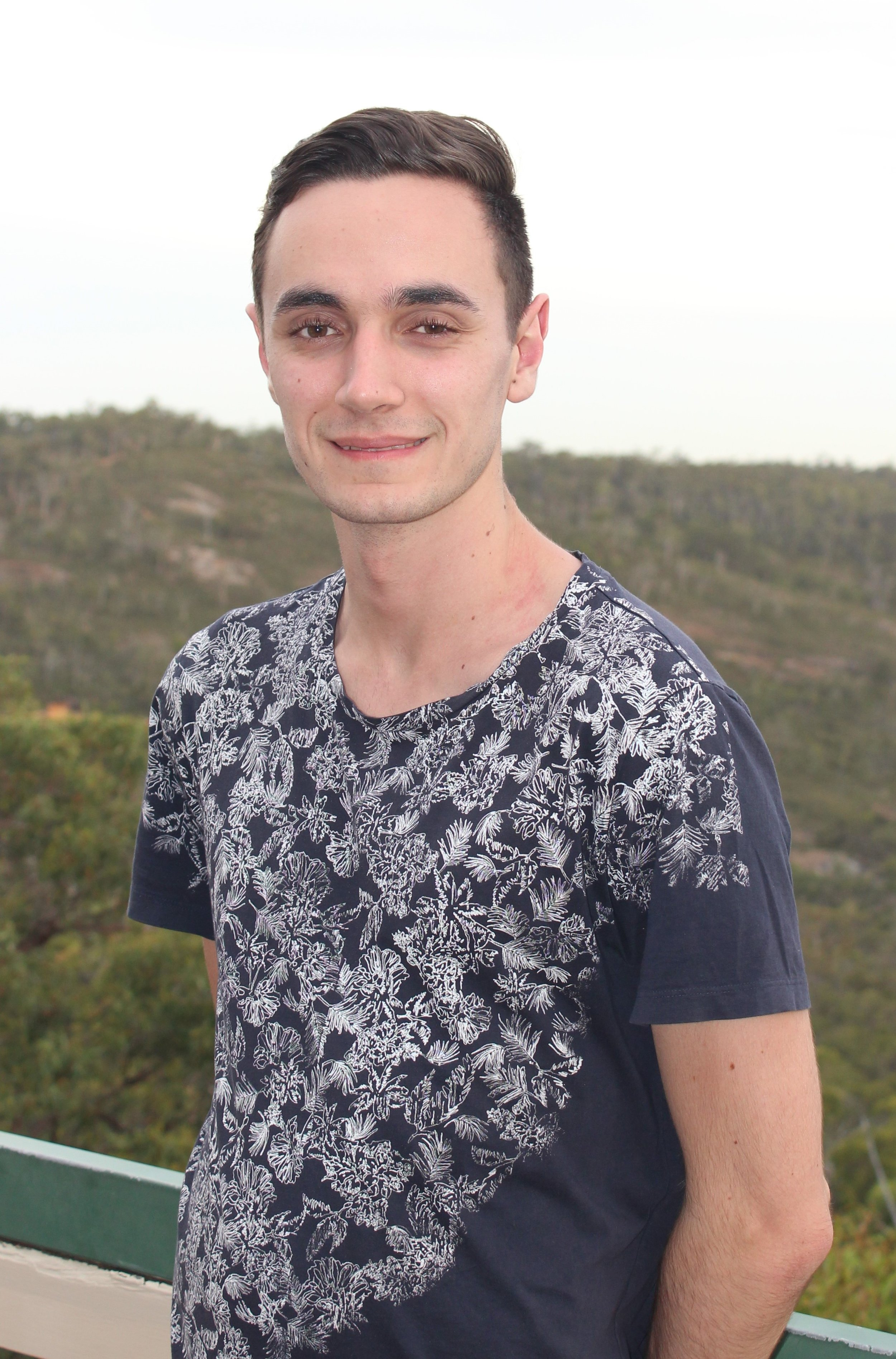My name is Sam, and though I come from Mandurah I've called College home for four years. I'm completing my Honours in Chemistry looking at fugal wheat pathogens, so you could say I'm a fun-guy. When I'm not in the lab I enjoy reading, knitting and playing board games with friends. My favourite part of College is that it's a friendly environment where you can be yourself.