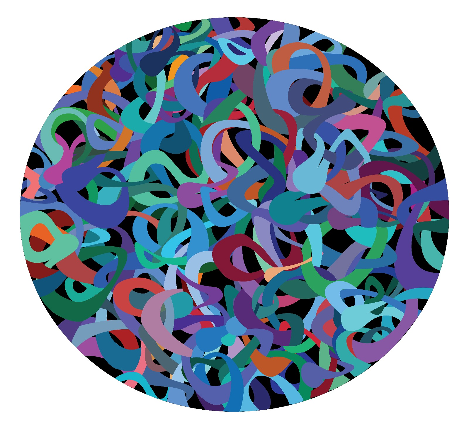 Digital Tangle #3