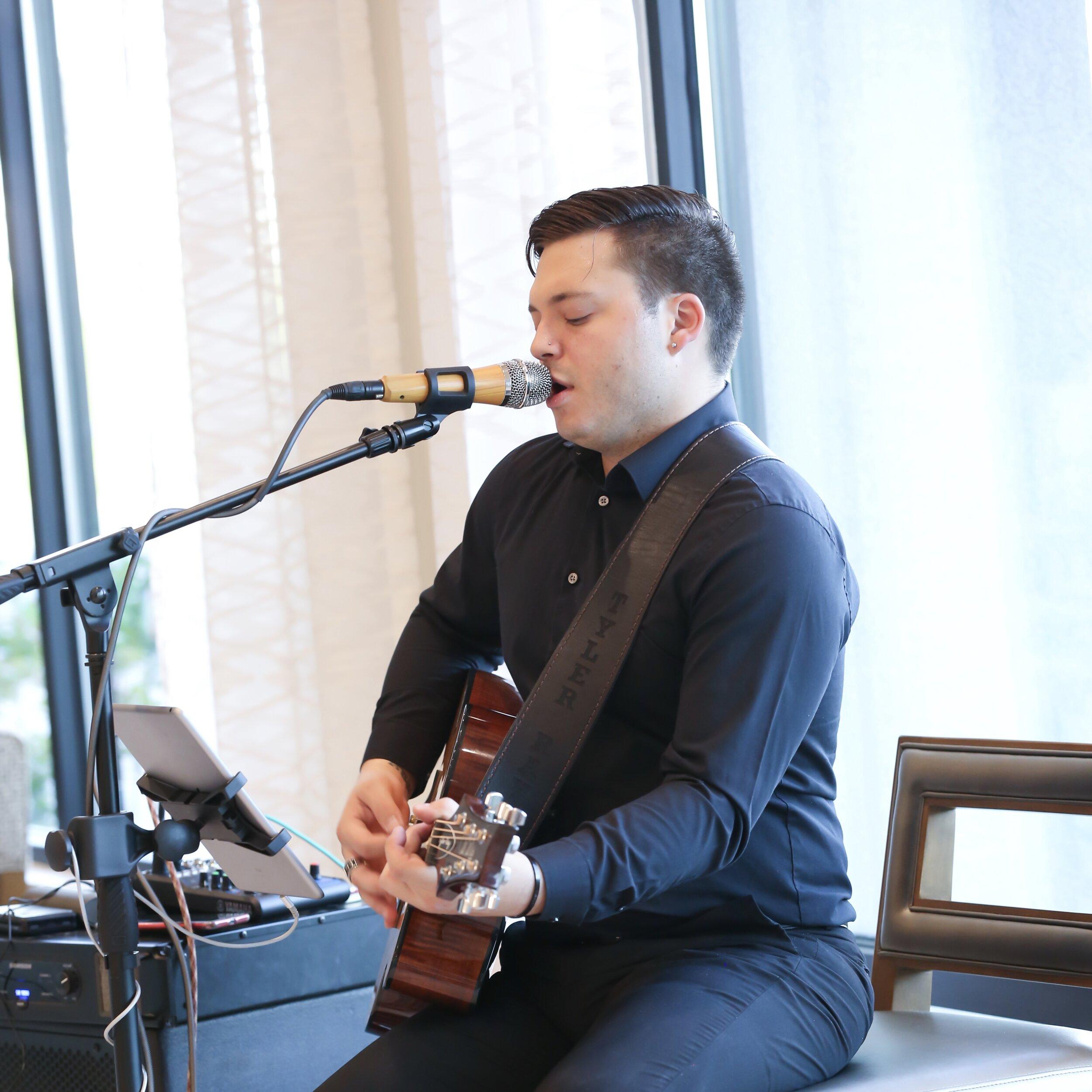 Singer / Guitarist for Cocktail Hour -