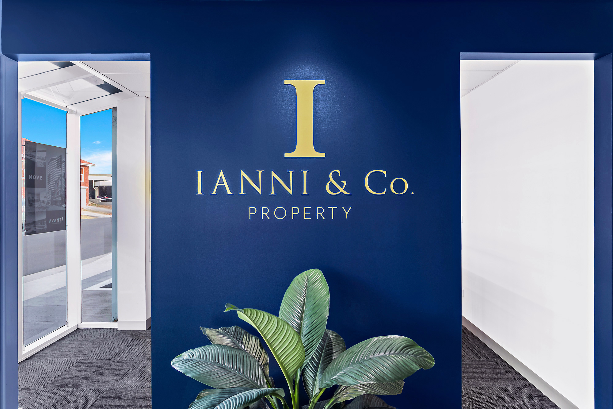 Ianni & Co. - Reception Sign