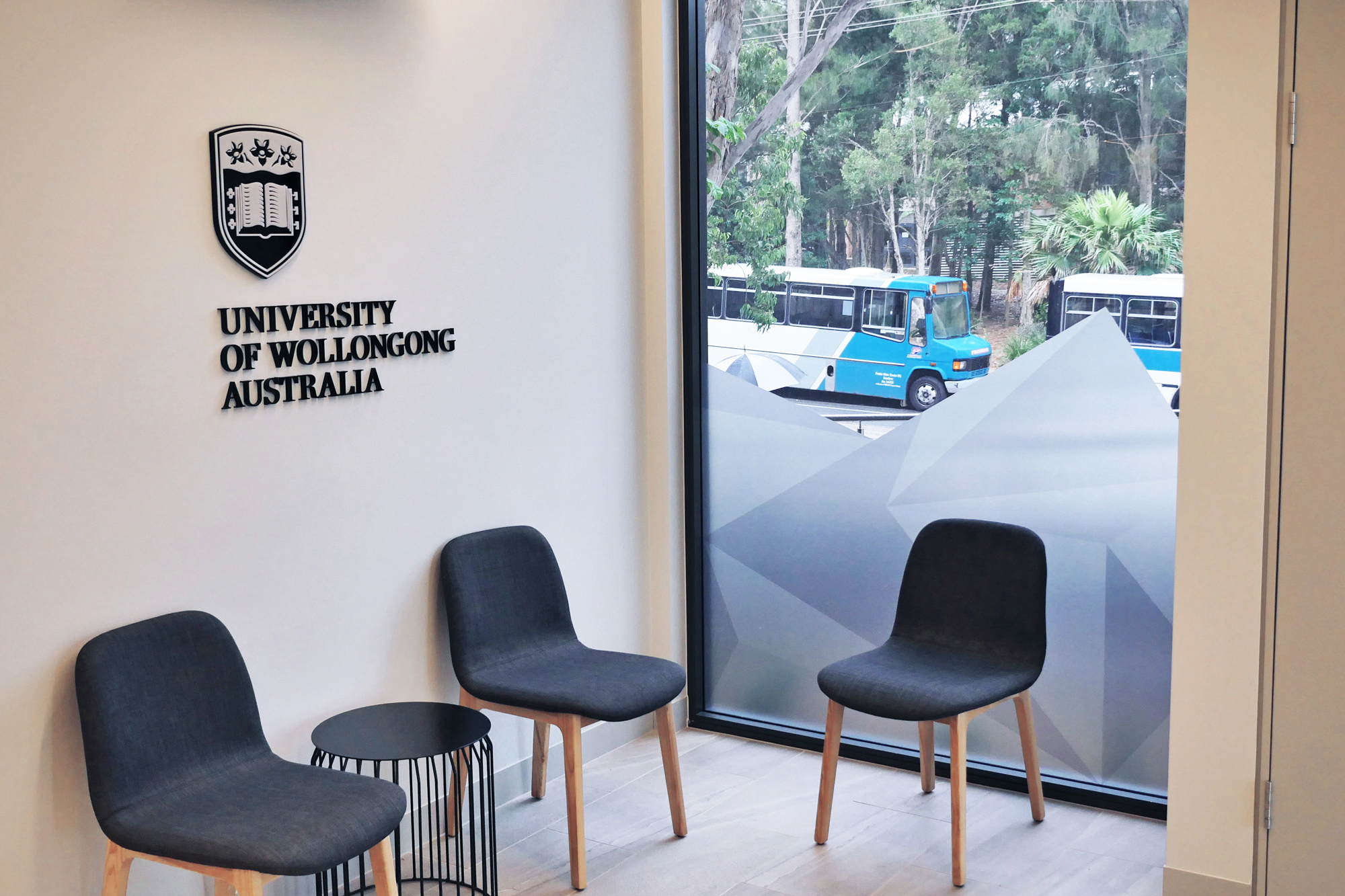 University of Wollongong - Foyer Sign Cut Out