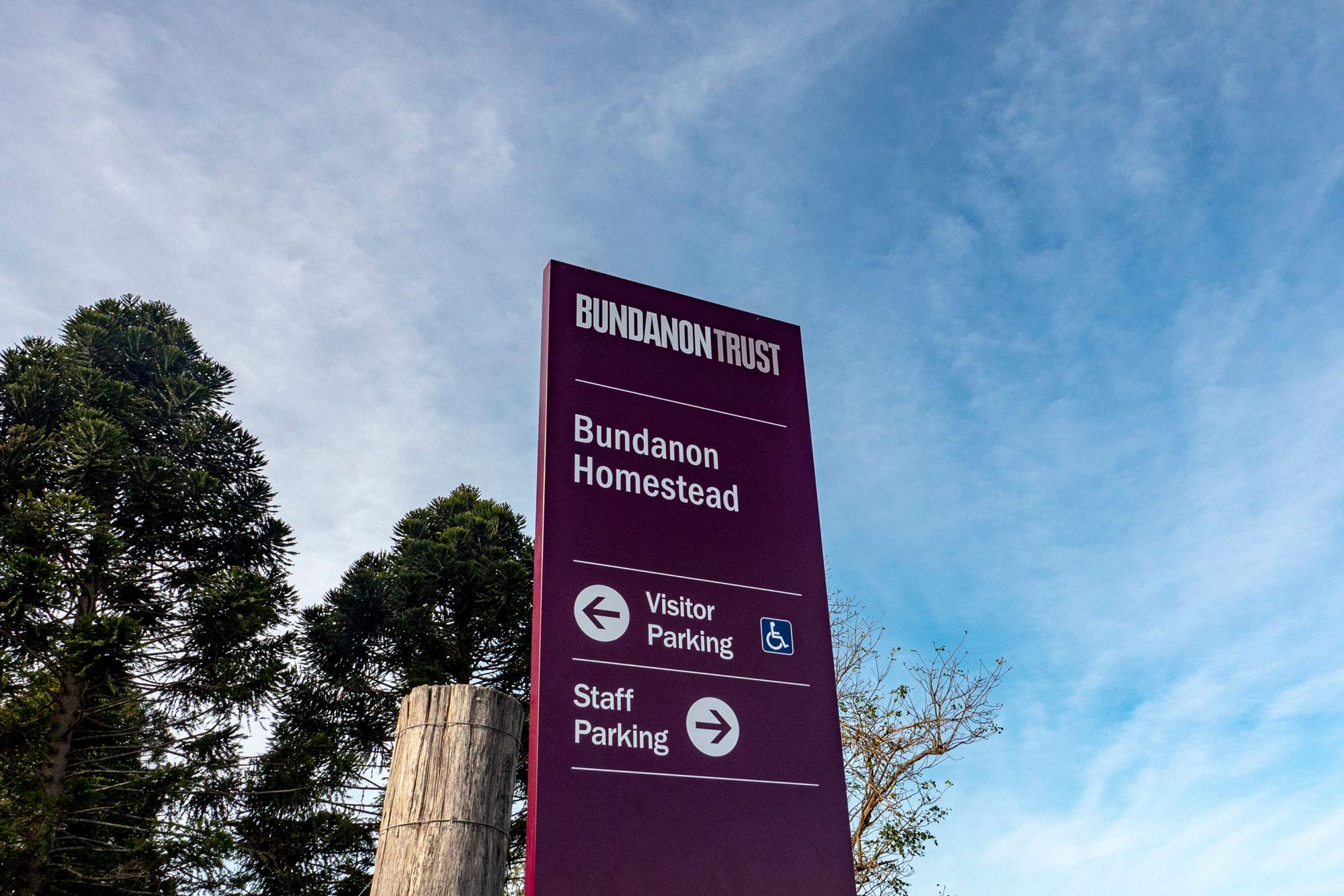 Bundanon Trust - Wayfinding Blade Sign
