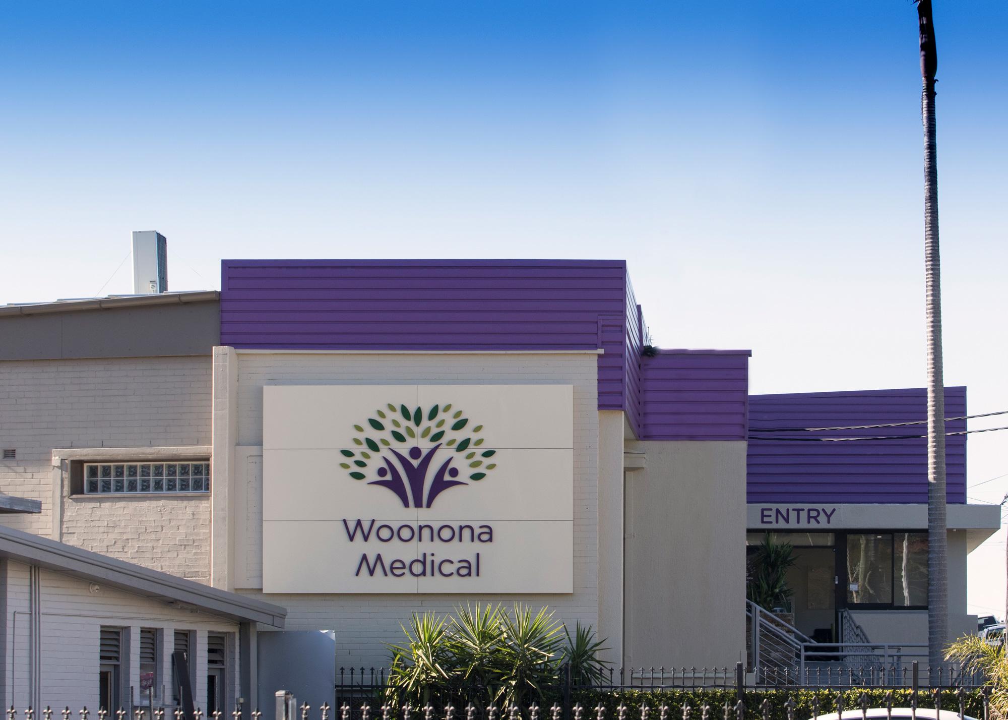 Woonona Medical. Signage & Design by Visual Energy