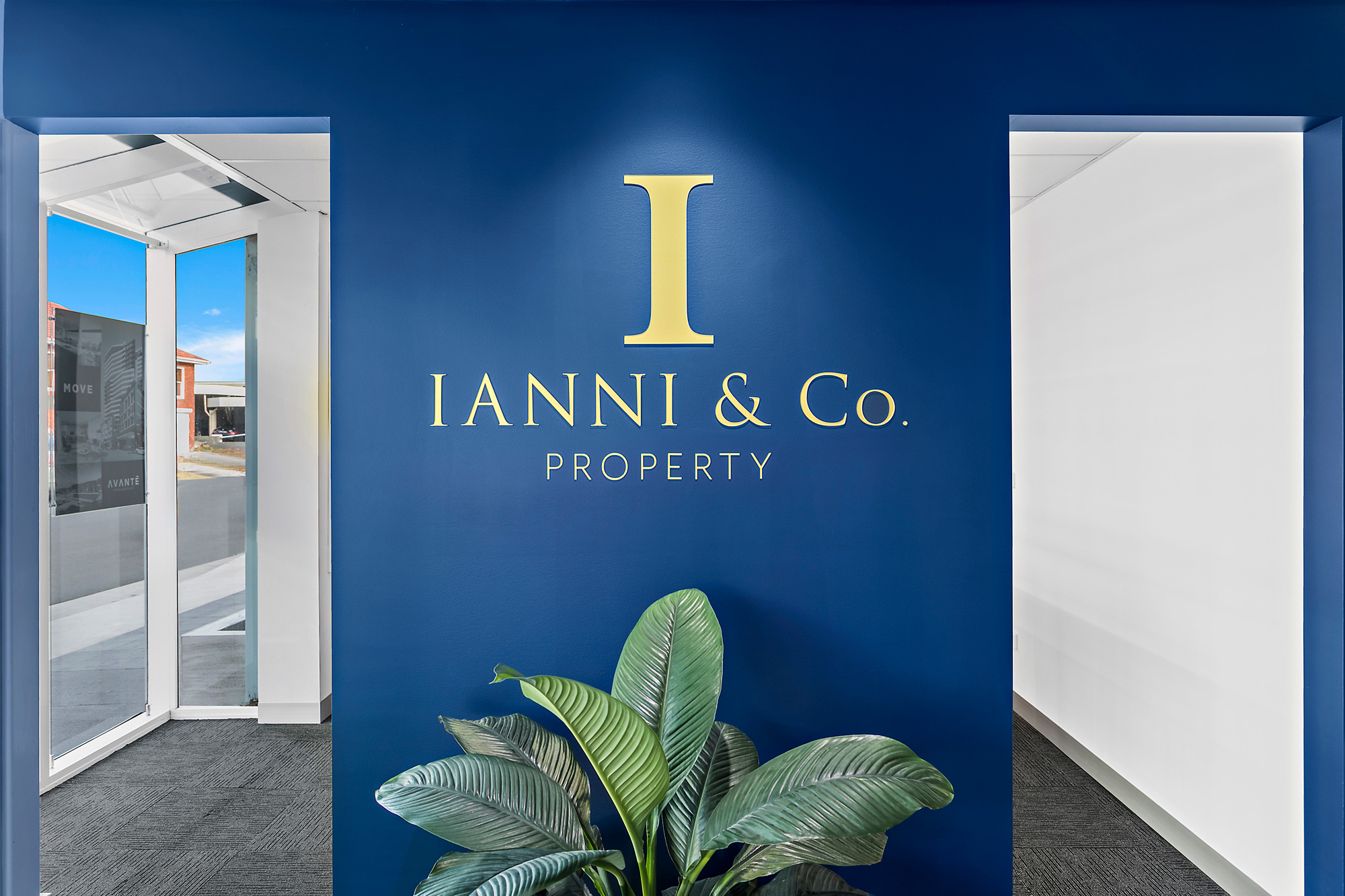 Ianni & Co. Property, Wollongong. Signage by Visual Energy