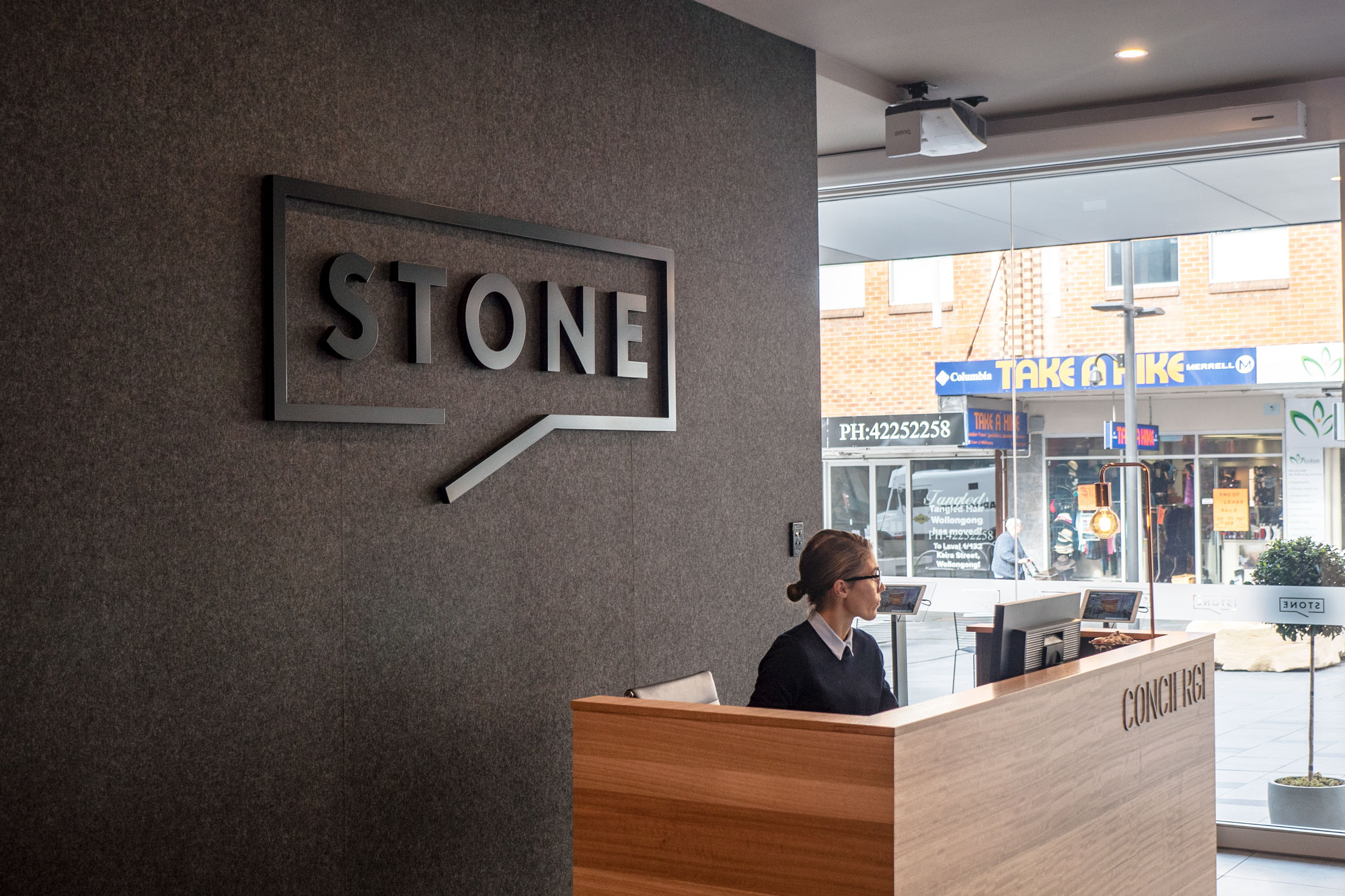Stone Real Estate Illawarra - Laser Cutting