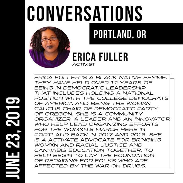 MEET THE PANELS: POST LEGALIZATION - @stoney_scorpio26 #CONVERSATIONSPDX
