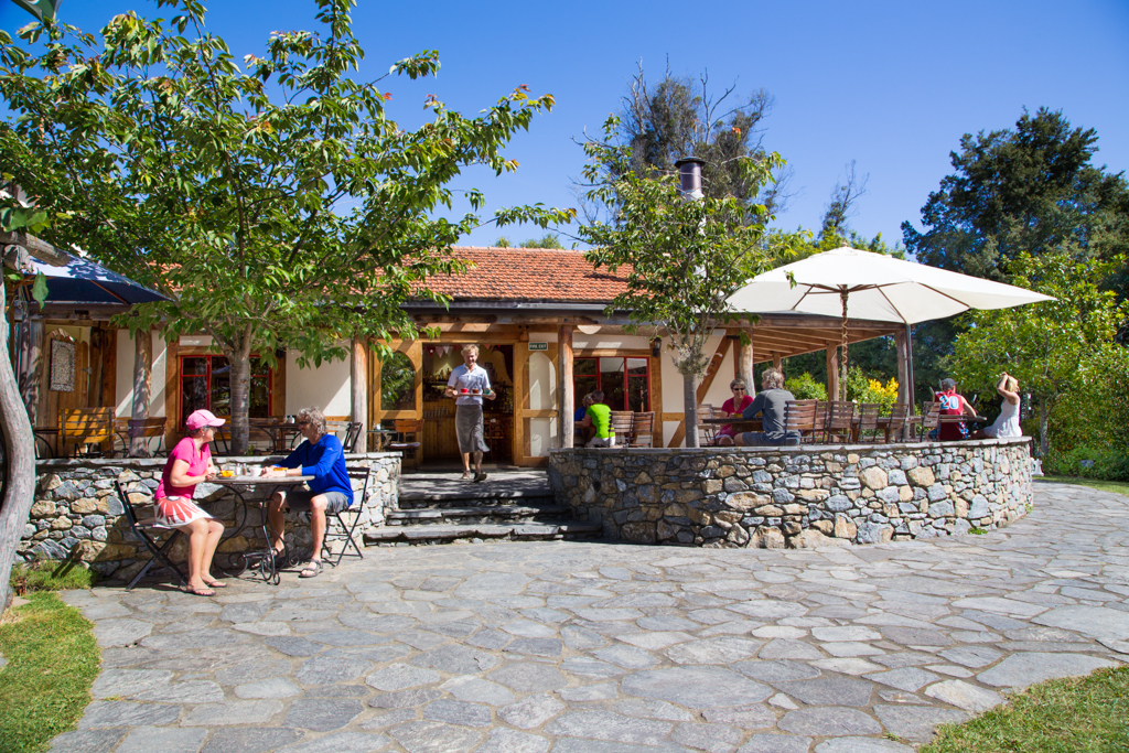 The Jester House - good food and excellent coffee in a quirky garden setting