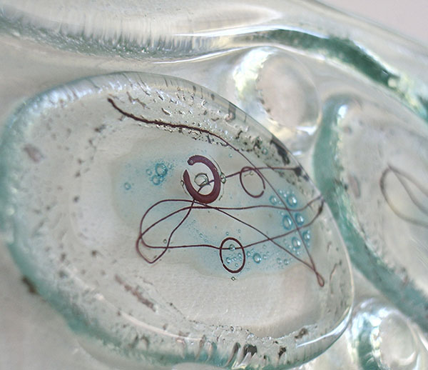 RCA artists - open studios presenting a variety of ceramics, painting, sculpture and printmaking. Image: Lynn Price - Fused Glass Artist