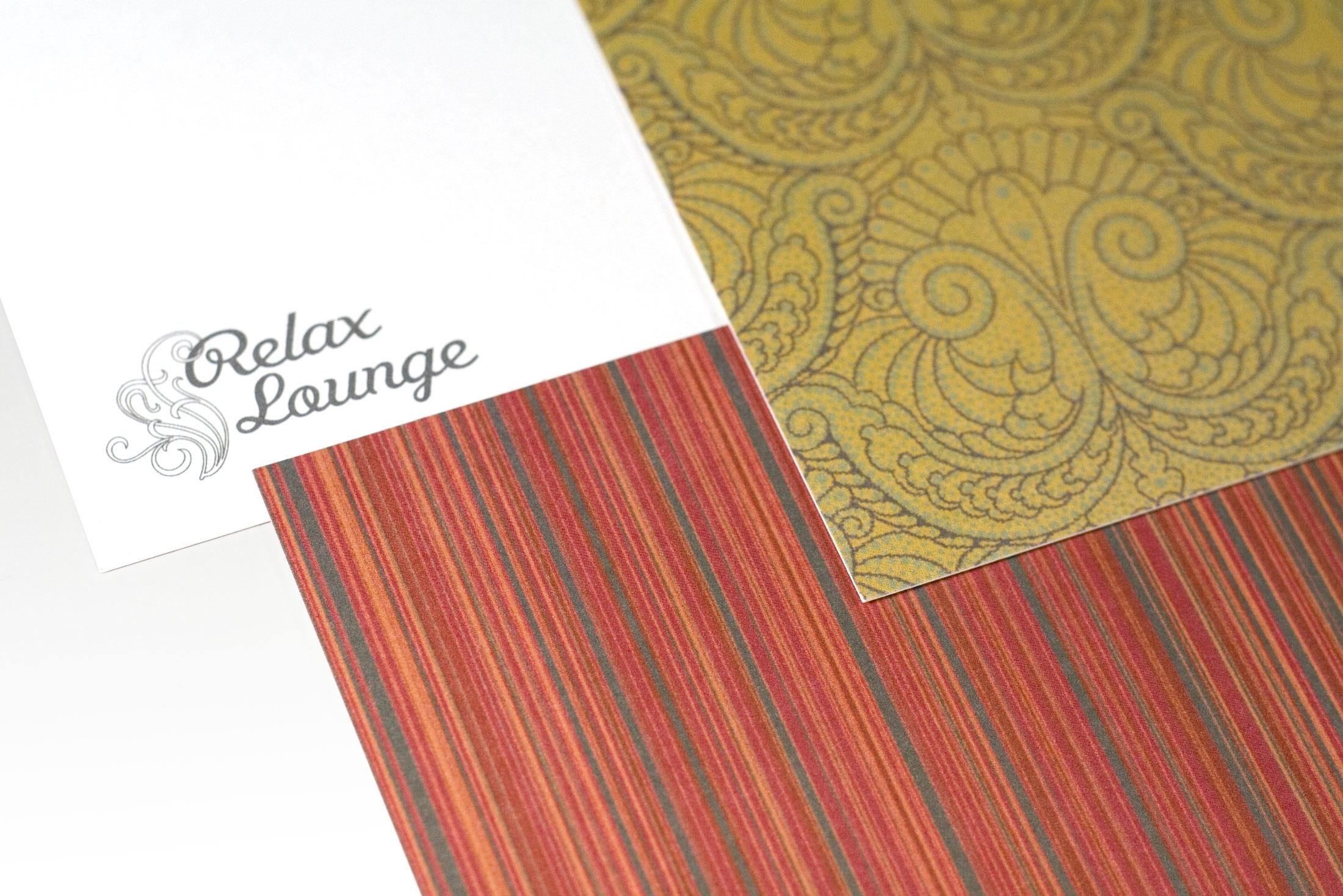 Relax Lounge. Pattern creation from original interior design.