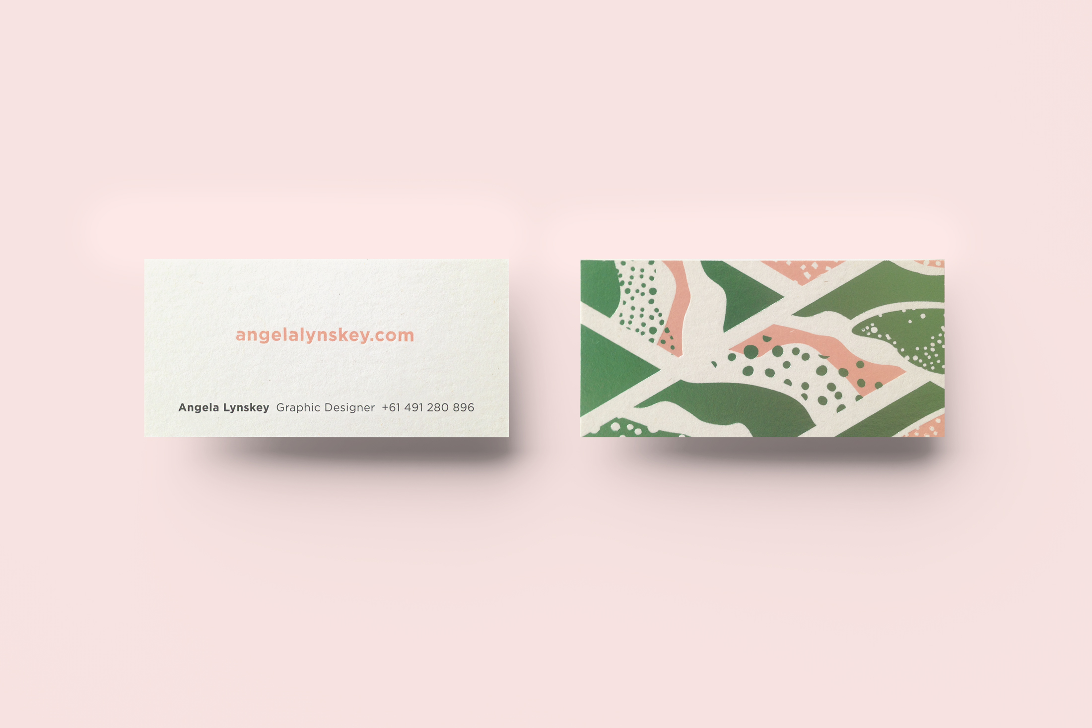 Self promotion: Personal business card.