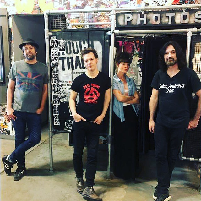 Thanks to Rough Trade NYC for showing us around the store today.  We could've spent all day there!  Next up, Rockwood Music Hall tonight at 9:30 😎😎 @roughtradenyc @rockwoodmusichall #brooklyn #touringlife #vinyl #bandpic +++ Pete RG is now Sons Of Silver.  Follow us at @sonsofsilverband