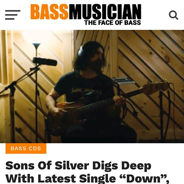 Thanks to Bass Musician Mag for the love for our new single, Down, and our even more  lovable bassist, Adam Kury: https://bit.ly/2ZiqMGK 🤩😬😎 @bassmusicianmag @kidkury @kevin_haaland @davekrusen @37bri37 @peterargyropoulos #bassguitar #bass #newmusic #newmusicmonday #musicvideo #acousticmusic #rockmusic #rock #interview +++ Pete RG is now Sons Of Silver.  Follow us at @sonsofsilverband