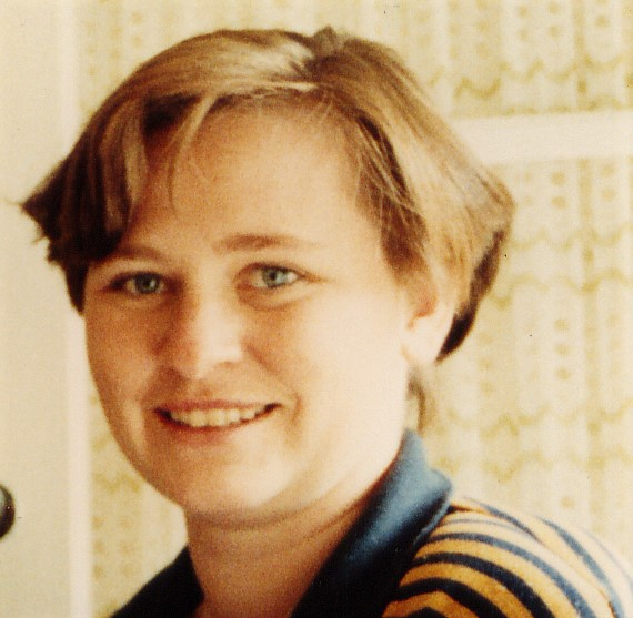 Kate as a young teacher
