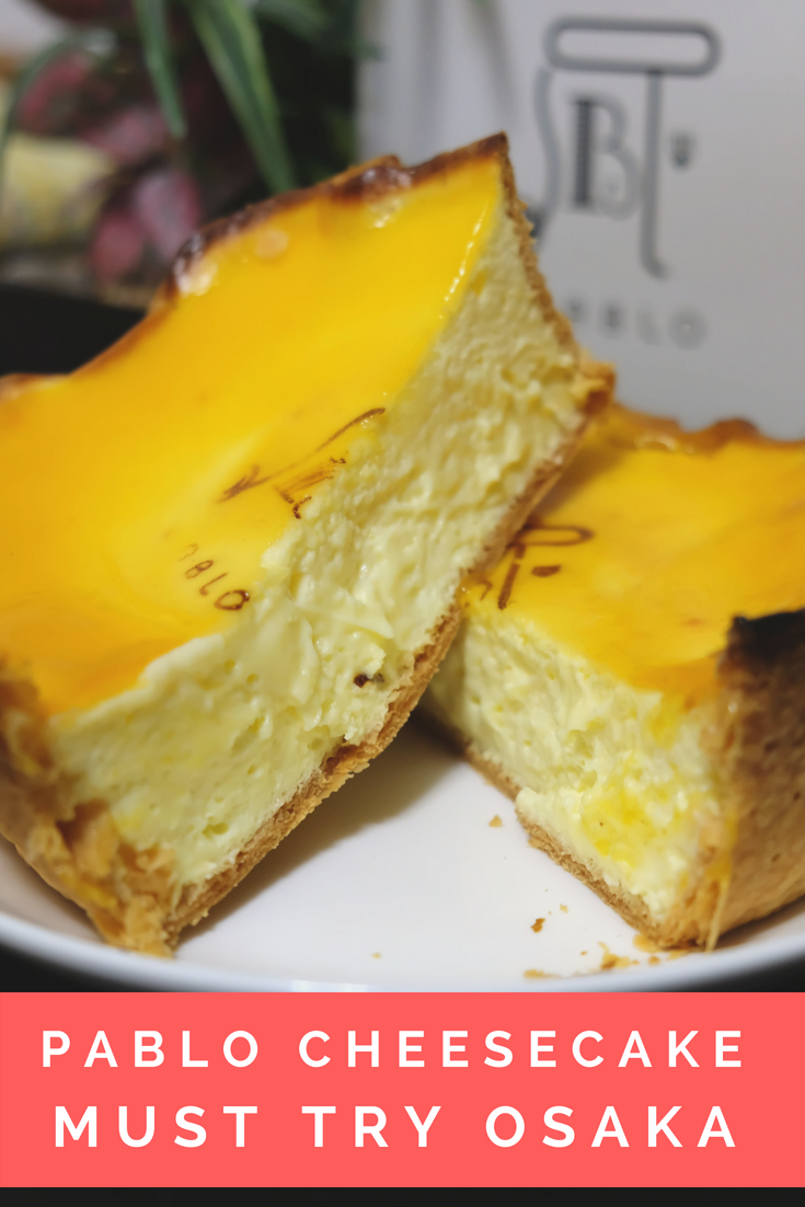 When in Dotonbori you must try the delicious cheesecake by Pablo. Its soft & fluffy on the inside & the crust is oh so crispy. Its a must try for anyone visiting Osaka.