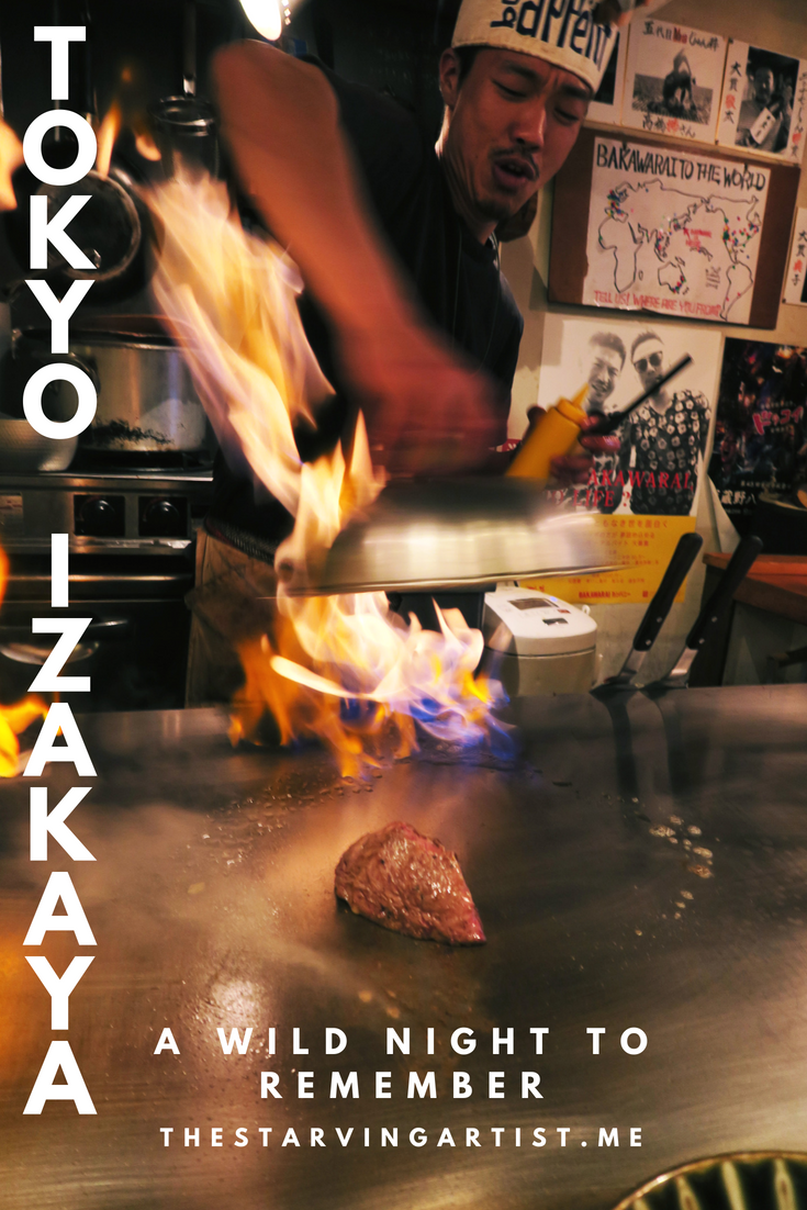 This Tokyo Izakaya will blow your mind! Let your hair down in this crazy Japanese pub. The entertainment overflows just as much as your sake cup!
