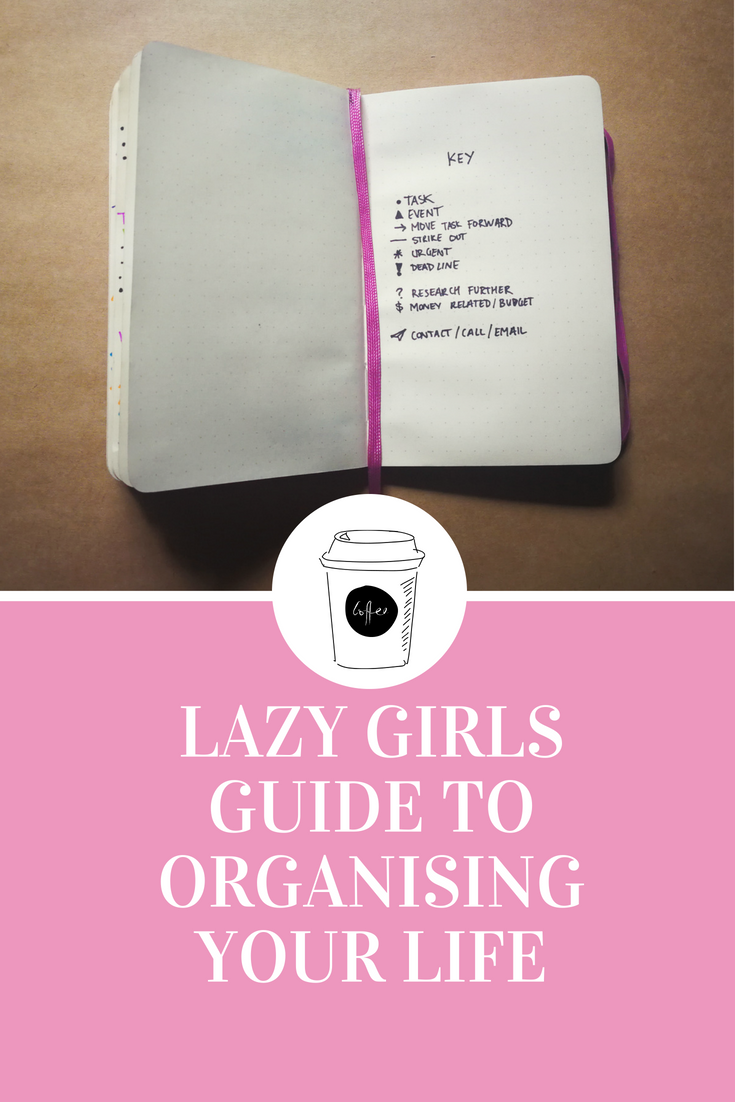 5 simple tips and tricks to organising your life. Organise your team , yourself & your space with Bullet journaling explained.