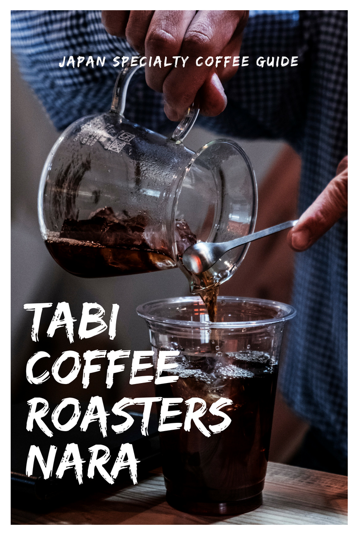 Tabi coffee roasters in Nara Japan is the best place to grab a coffee away from the crowds & cheeky deer.