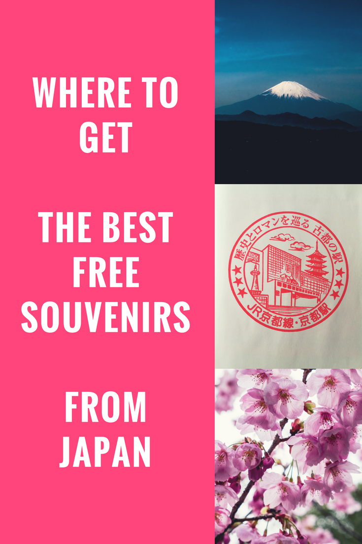 Looking for Japanese souvenirs that won't break the bank? Try this option. They are totally unique to every location you visit & hold so many memories!