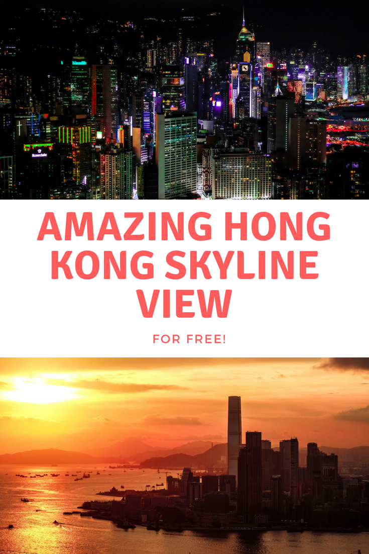 Best free view of the Hong Kong skyline. Full Guide
