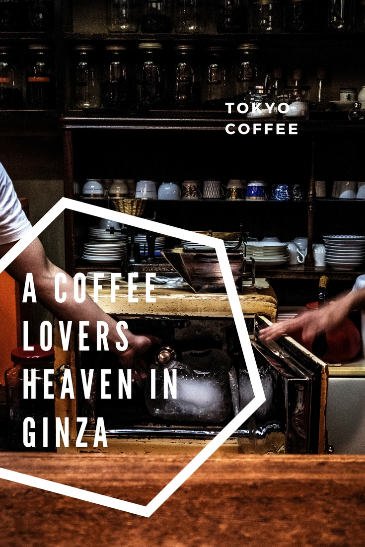 Cafe in Ginza Tokyo is a coffee lovers heaven. Japan specialty coffee guide.