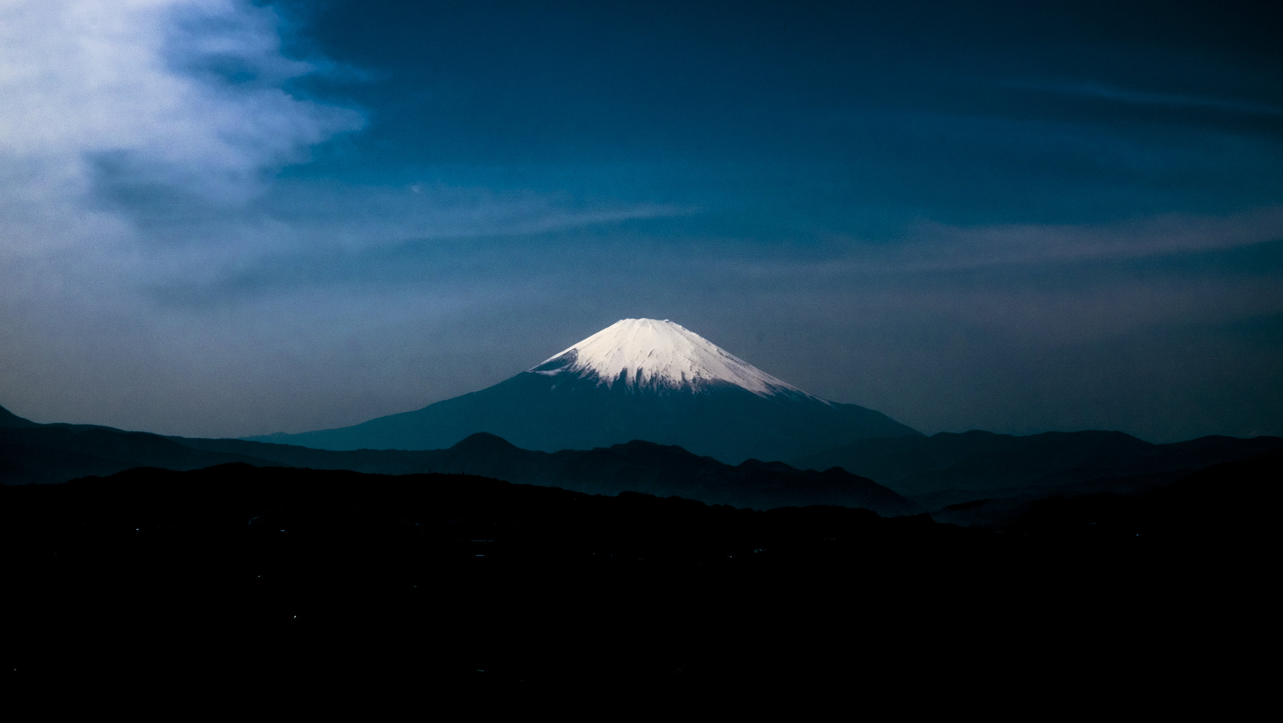 View of mt.fuji from Oiso
