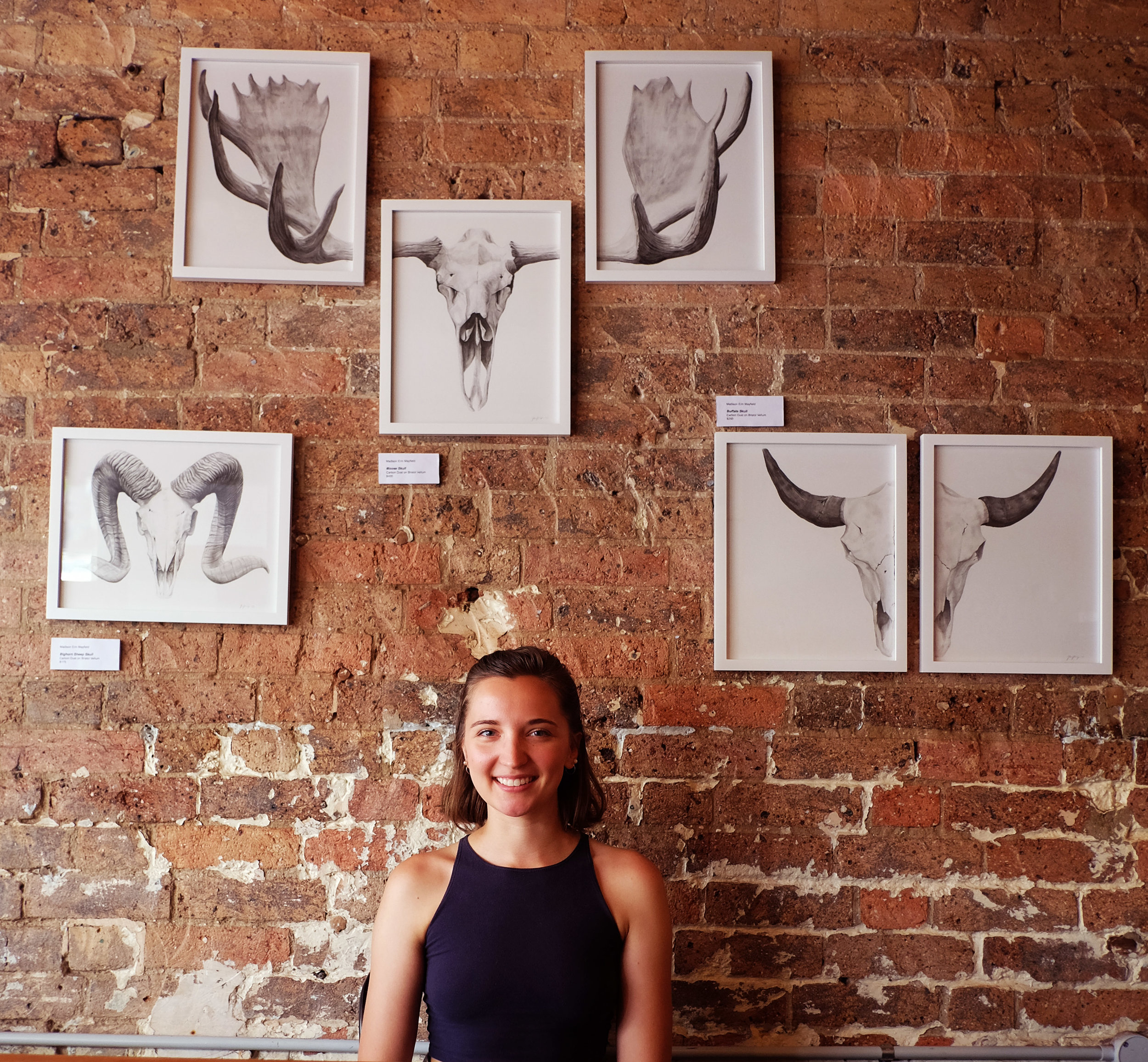 Madison Erin Mayfield at Reverends Fine Coffee In Brisbane