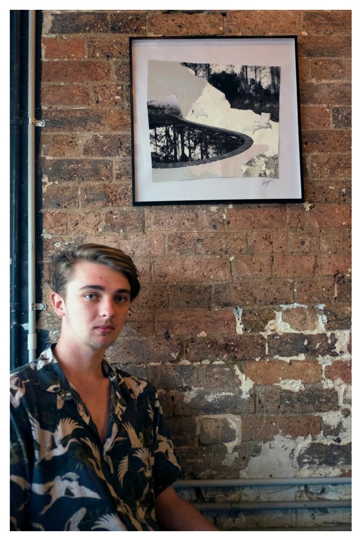 Portrait of Tom Broadhurst at Reverends Fine Coffee